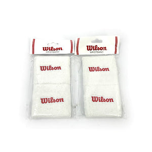 Wilson Wristband Pack of 2 Short Style