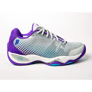 Prince T22 Lite Grey/Purple/Blue Women's Tennis Shoes