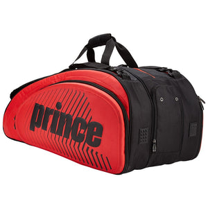Prince Tour Slam 12 Pack Red /Black Squash/Tennis Bag