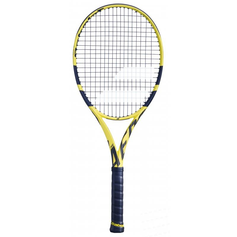 "Babolat Pure Aero Jr 25"" Tennis Racquet - Throat"