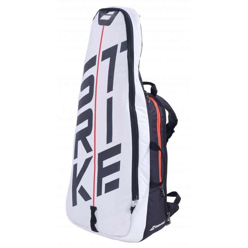Babolat Pure Strike Backpack White/Red Back