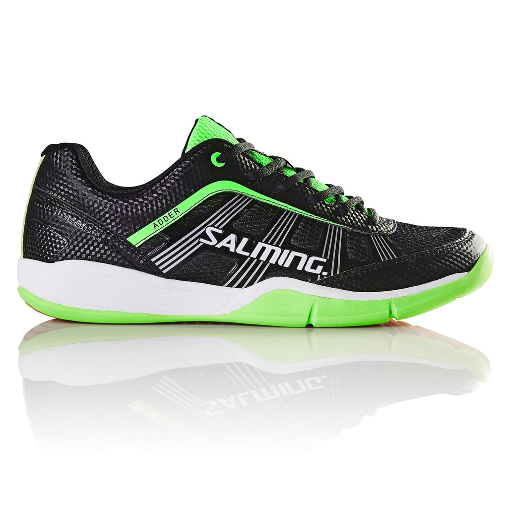 Salming Adder Black/Green Men's Indoor Court Shoes