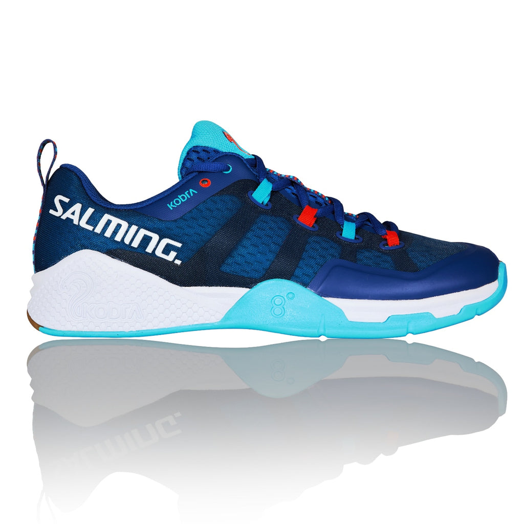 Salming Kobra 2 Limoges Blue/Blue Atol Men's  Indoor Court Shoes
