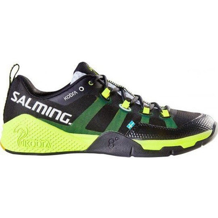 Salming Kobra Black/Yellow Men's Indoor Court Shoes
