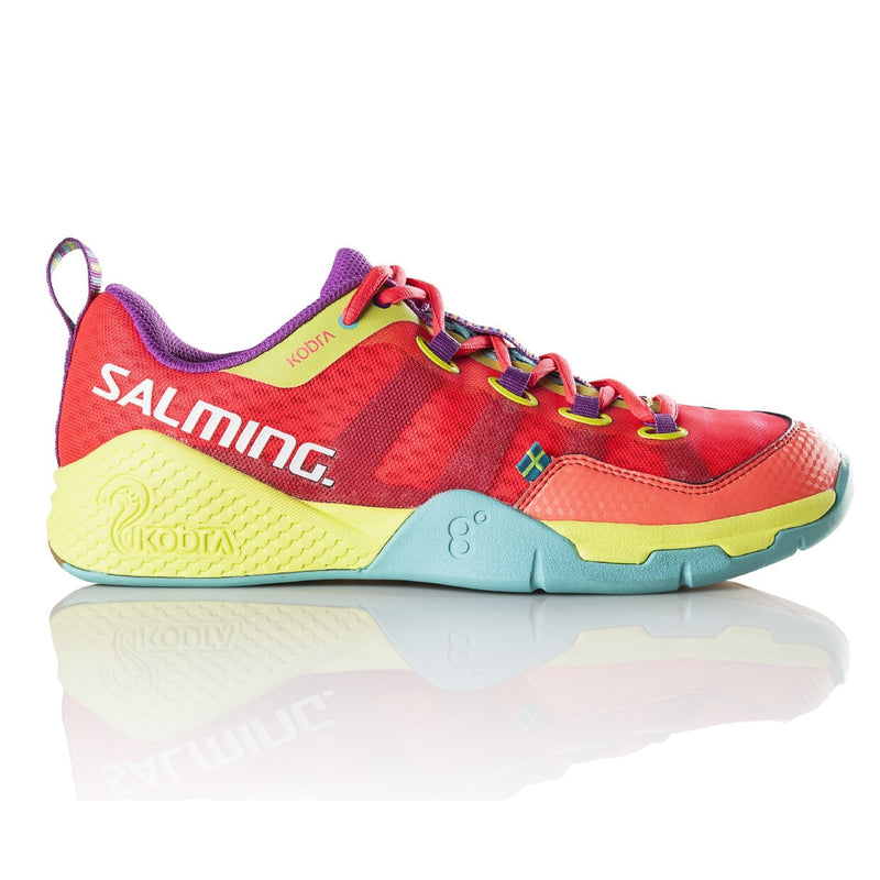 Salming Kobra Diva Pink / Turquoise Indoor Court Shoes