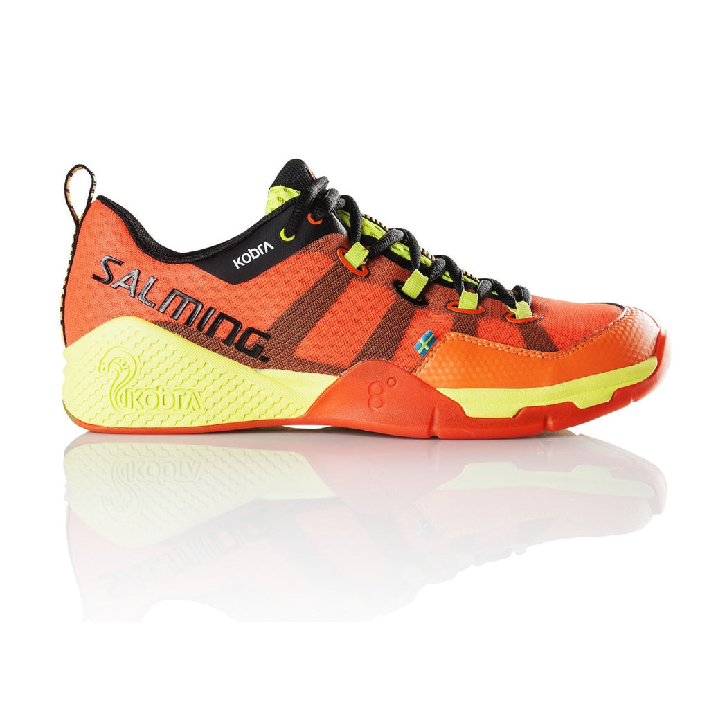 Salming Kobra Magma Red / Black Indoor Court Shoes