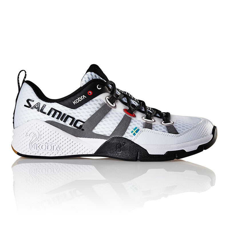 Salming Kobra White Men Indoor Court Shoes