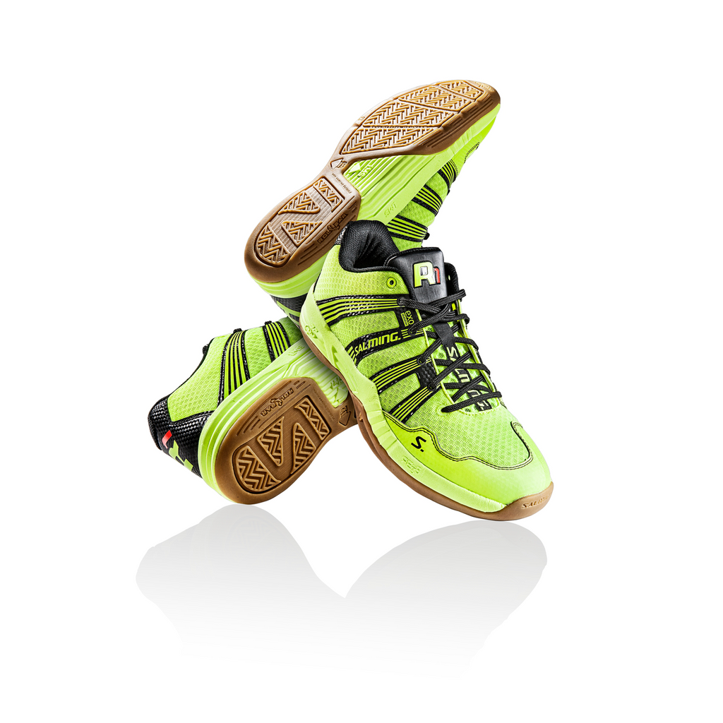 Salming Race R1 2.0 Safety Yellow Squash Shoes