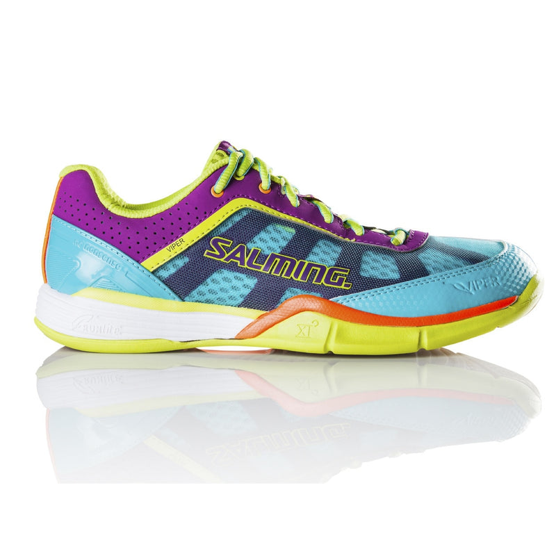 Salming Viper 3.0 Turquoise / Cactus Flower Indoor Court Shoes