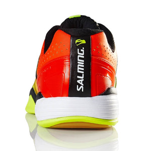 Salming Viper 4 Junior Yellow/Orange Indoor Court Shoes
