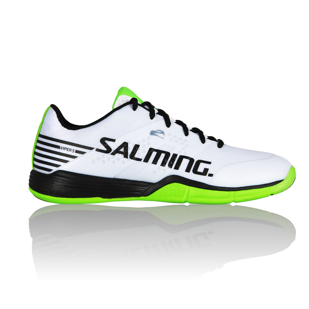 Salming Viper 5 White/Black Indoor Court Shoes
