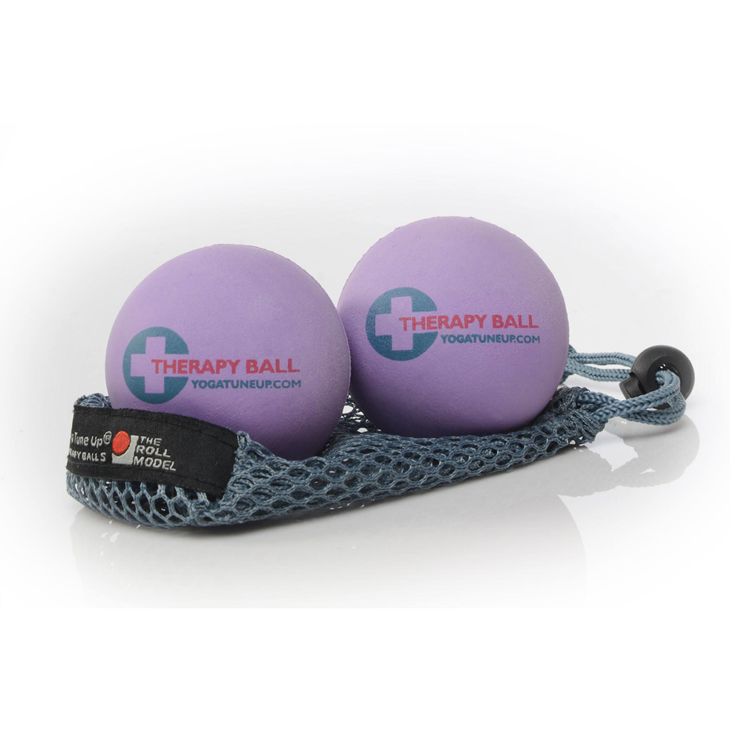 Yoga Tune Up Ball 2 Pack - Purple