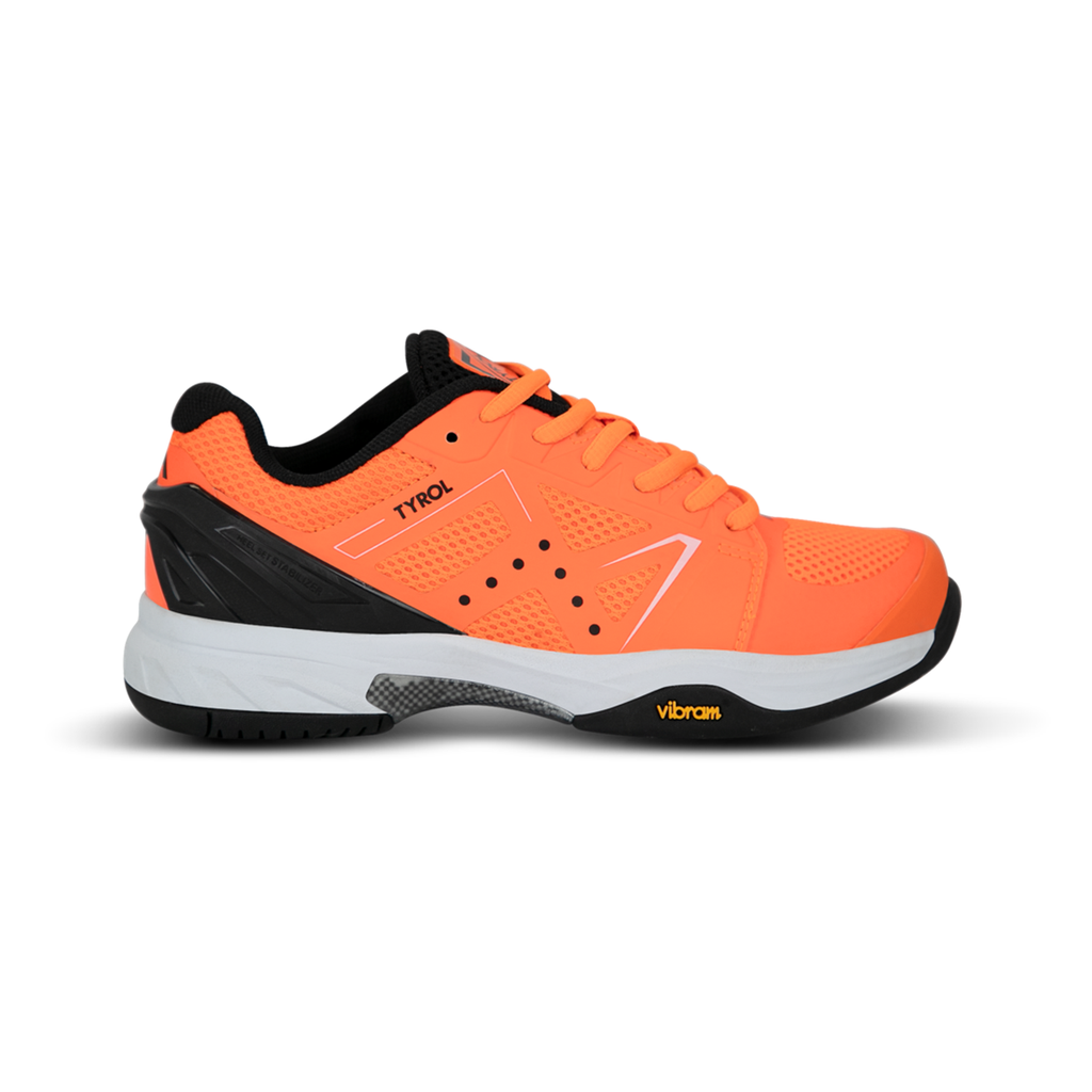 Tyrol Drive V Women's Indoor Pickleball Shoes Orange/Black
