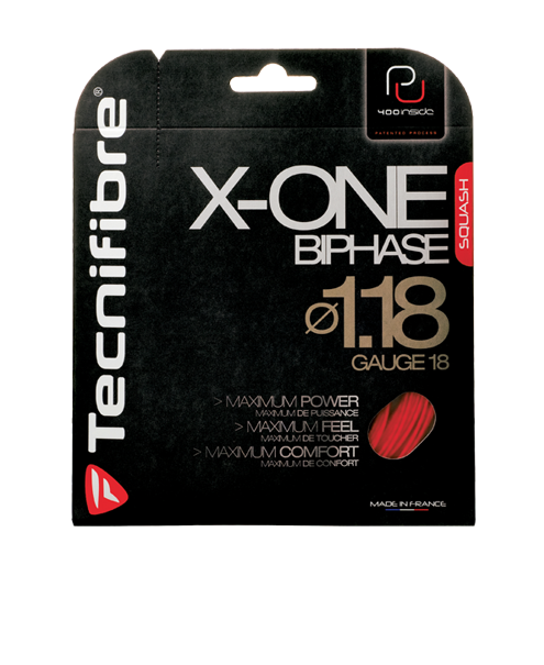 Tecnifibre X-ONE Biphase 18 Squash String Set
