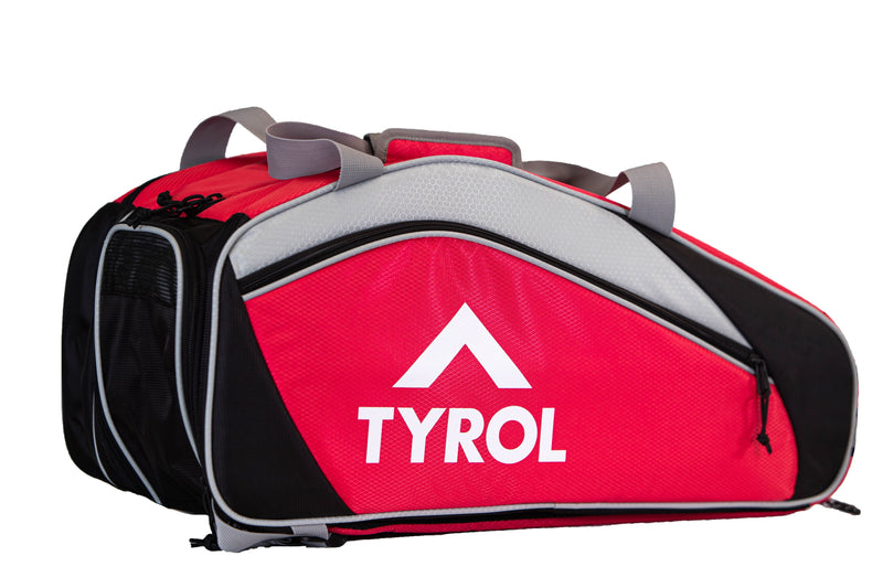 Tyrol Club Bag Black/Red/White Side