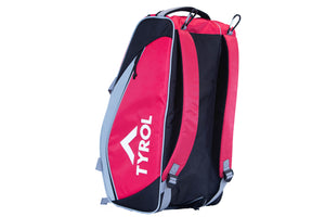 Tyrol Club Bag Black/Red/White Bottom