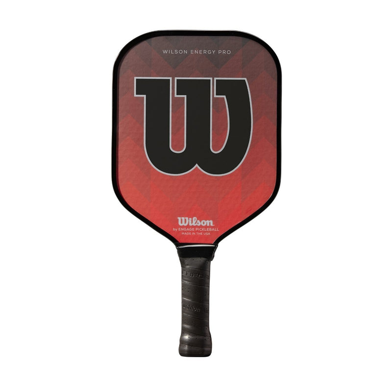 Wilson Energy Pro Pickleball Red/Black Pickleball Paddle