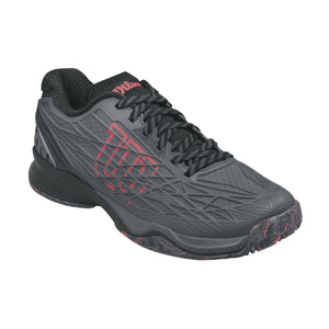 Wilson Kaos Ebony/Black/Red Men's Tennis Shoes