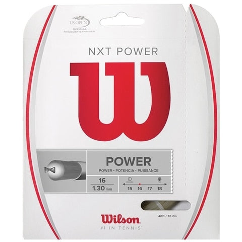 Wilson NXT Power 16 Multifilament Tennis String Set