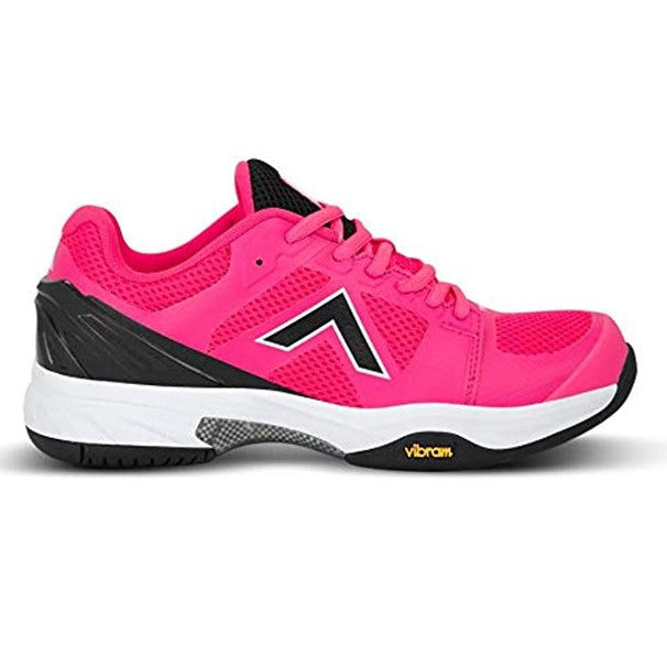 Tyrol Pro Striker Women's Indoor Pickleball Shoes/Hot Pink/Black