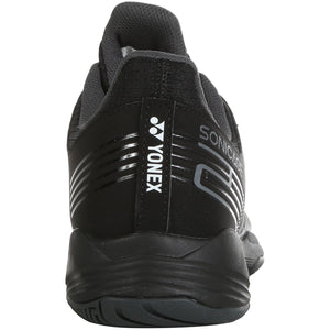 Yonex Power Cushion Sonicage 2 Black Tennis Shoes 2020 - Back