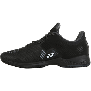 Yonex Power Cushion Sonicage 2 Black Tennis Shoes 2020 - Side