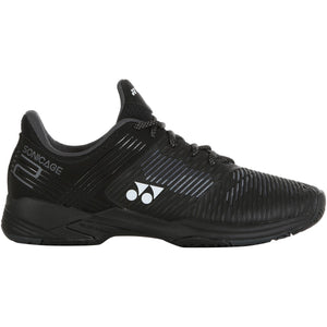 Yonex Power Cushion Sonicage 2 Black Tennis Shoes 2020 - Side 2