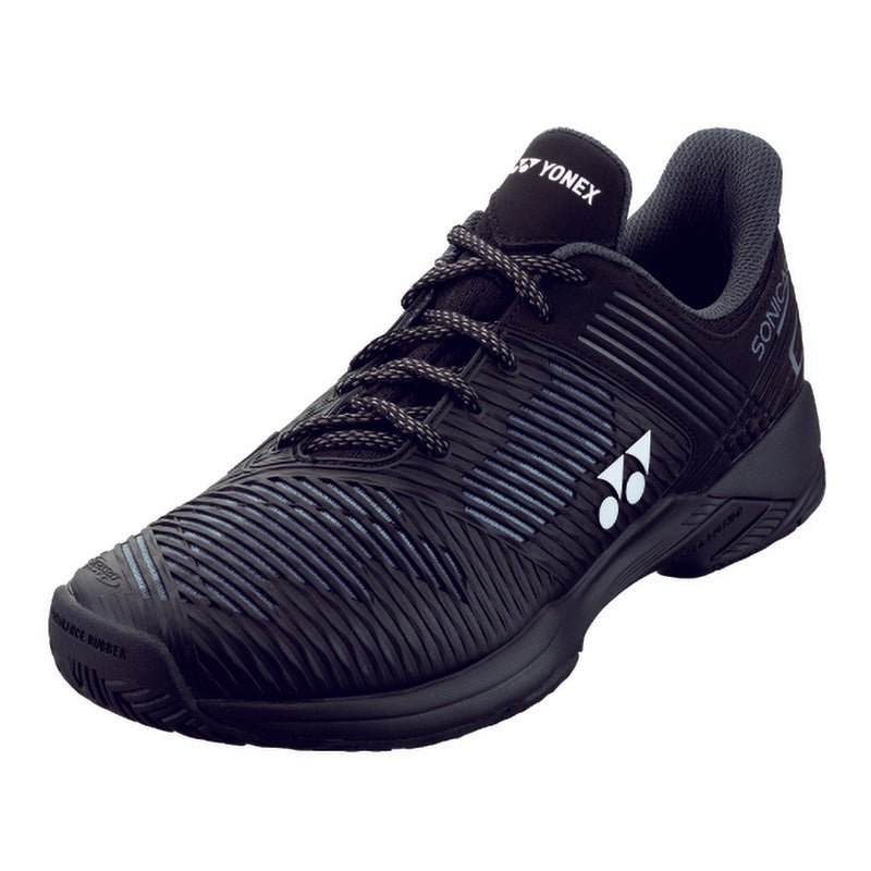 Yonex Power Cushion Sonicage 2 Black Tennis Shoes 2020 - Main