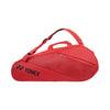 Yonex Active Racquet Bag 6pk Bright Red - Side