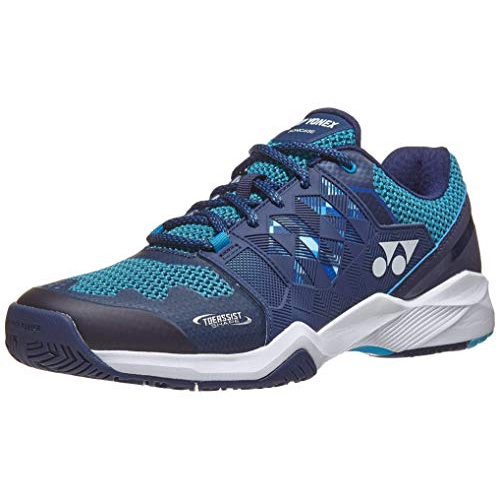 Yonex Power Cushion Sonicage Wide Blue Navy Mens Tennis Shoes