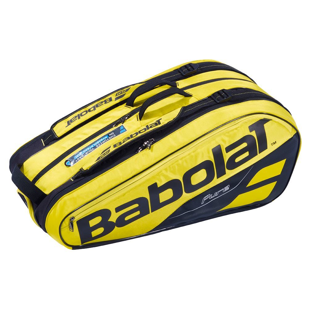 Babolat Pure Aero 9 Racquet Bag Yellow/Black 2019