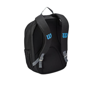 Wilson Ultra Backpack Black/Blue/Silver Back