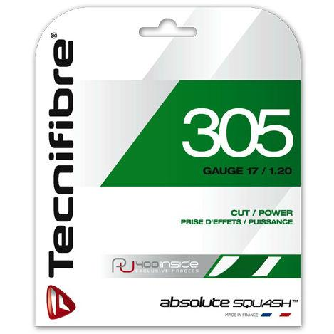 Tecnifibre 305 1.20mm Green Squash String Set
