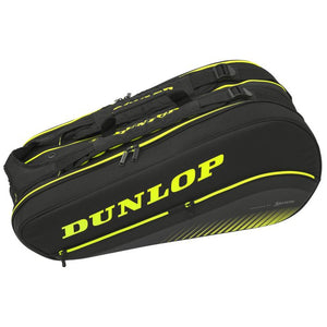Dunlop D Tac SX Performance 8 Racquet Thermo Bag Black/Yellow - Side
