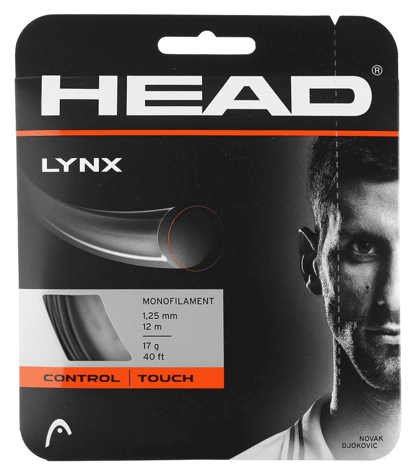HEAD Lynx Monofilament 17g Tennis String Set
