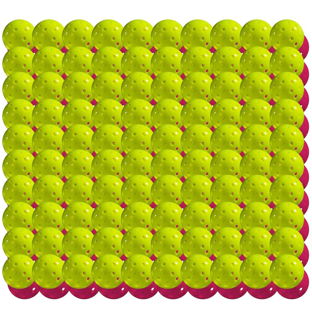 Franklin X-40 Outdoor Pickleball Optic Yellow 100 Pack