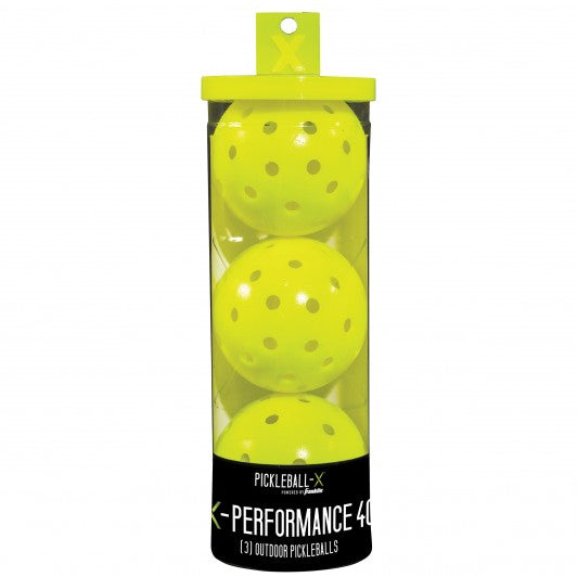 Franklin X-40 Outdoor Pickleball Balls 3 Pack