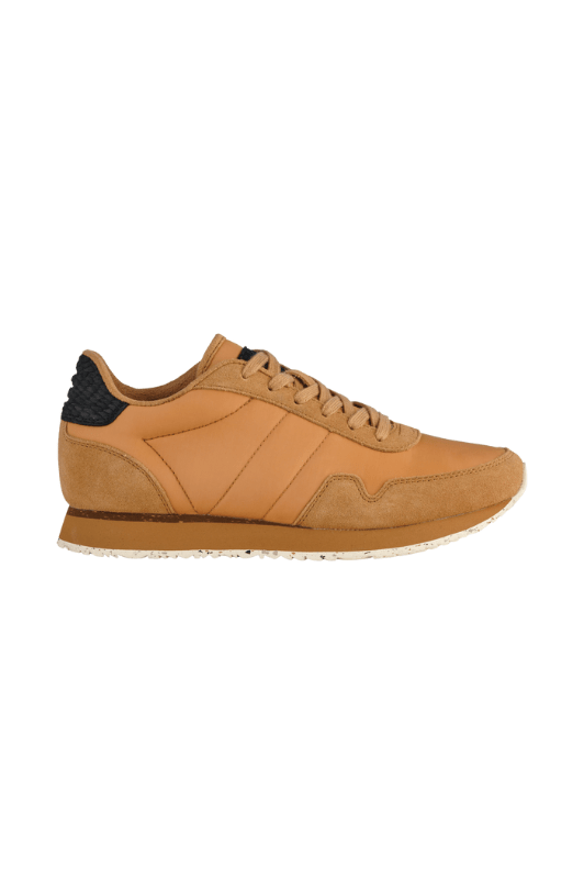 Woden Nora lll Leather sneakers | Bæredygtige sneakers i sand