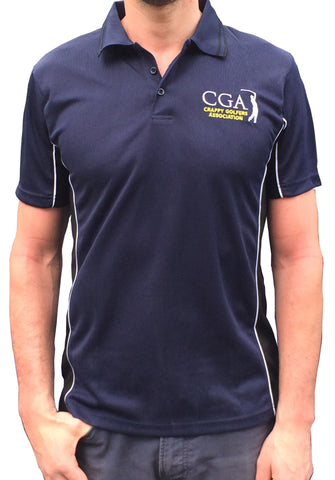 New Body Slimming Polo - Navy