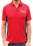 New Body Slimming Polo - Red