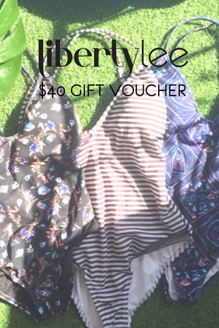 swimwear, bikini, one piece, gift voucher