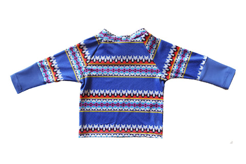 Aztec Lines Long Sleeve Rashie
