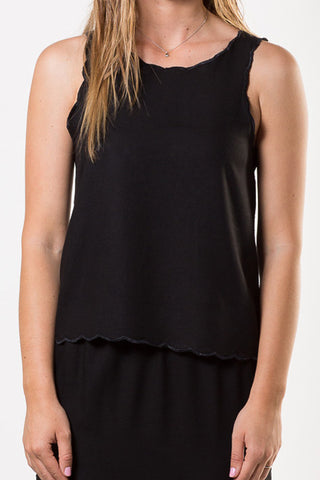 Liberty Lee Bondi Tank Black