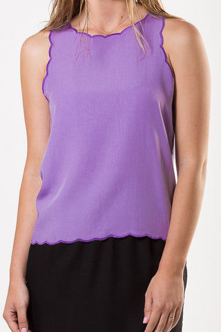 Liberty Lee Bondi Tank Lilac