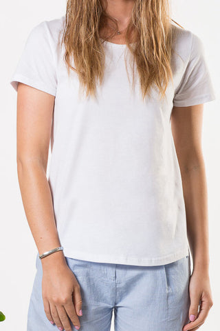 Liberty Lee Ocean Tee White