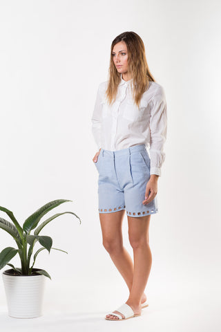 Liberty Lee La Plagé Shorts Chambray