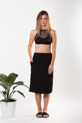 Liberty Lee Bondi Skirt Black