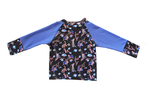 Night Bloom Girls Long Sleeve Rashie
