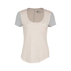 OCEANSIDE WAY SCOOP NECK RAGLAN T-SHIRT - SHORT-SLEEVE - WOMEN'S