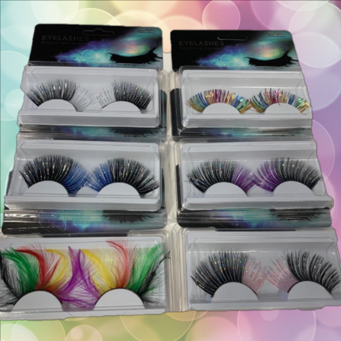 Wimpers diverse Eyelashes aanbieding